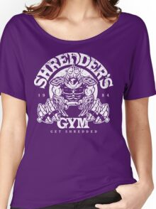 Shredder's Gym Women's Relaxed Fit T-Shirt