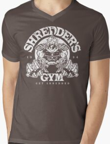 Shredder's Gym Mens V-Neck T-Shirt