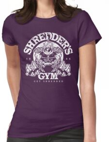 Shredder's Gym Womens Fitted T-Shirt