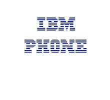 IBM Phone White by Jonathan Lynch