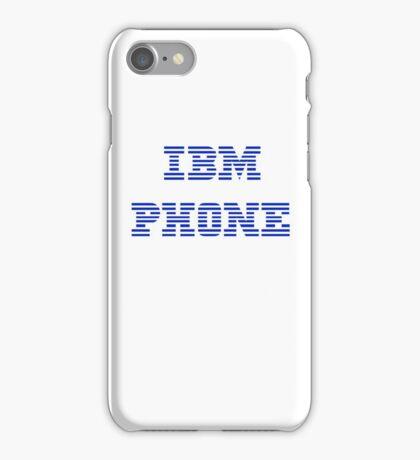 IBM Phone White iPhone Case/Skin