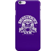 Shredder's Gym iPhone Case/Skin