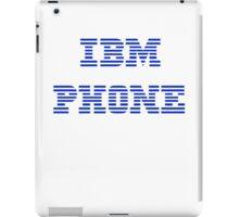 IBM Phone White iPad Case/Skin