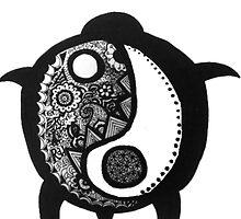 Yin Yang Turtle by alexavec