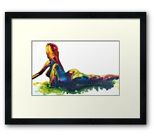 Sun Goddess  Framed Print
