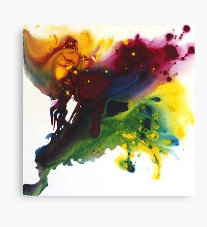 Fluid Motion Canvas Print