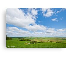 Wheatfield in the Palouse Canvas Print