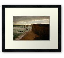 The 12 Apostles Sunset  Framed Print