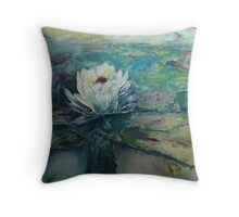 The First Lily Designer Cushion Throw Pillow