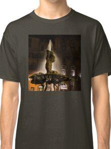 Rome's Fabulous Fountains - Bernini's Triton Fountain Classic T-Shirt