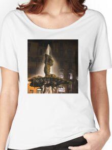 Rome's Fabulous Fountains - Bernini's Triton Fountain Women's Relaxed Fit T-Shirt