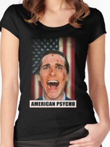 American Psycho Women's Fitted Scoop T-Shirt