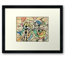 Stick it To Them number 1  Framed Print