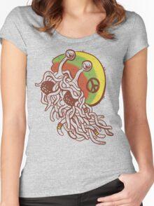 Rastafarian Pastafarian Women's Fitted Scoop T-Shirt
