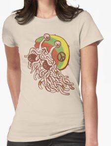 Rastafarian Pastafarian Womens Fitted T-Shirt