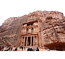 Jordan - Petra - Treasury or Al Khazneh Photographic Print