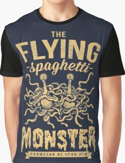 The Flying Spaghetti Monster (dark) Graphic T-Shirt