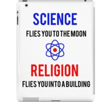Science Vs. Religion iPad Case/Skin