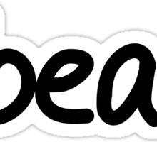 #beast Sticker