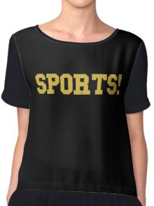 Sports - version 3 - gold Chiffon Top