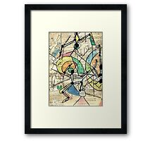 Stick it to them Number 2  Framed Print