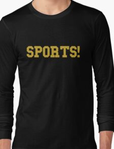 Sports - version 3 - gold Long Sleeve T-Shirt