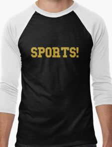 Sports - version 3 - gold Men's Baseball ¾ T-Shirt