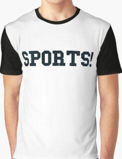 Sports - version 4 - navy / dark blue Graphic T-Shirt