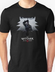 Witcher 3 - Medallion w/ Logo - One Sword Unisex T-Shirt