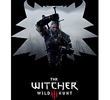 Witcher 3 - Medallion w/ Logo - One Sword Photographic Print