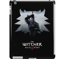 Witcher 3 - Medallion w/ Logo - One Sword iPad Case/Skin
