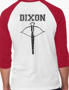 Daryl Dixon Crossbow (black) Men's Baseball ¾ T-Shirt