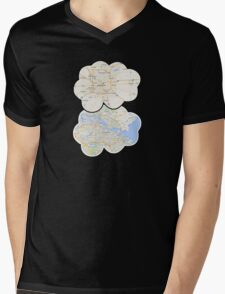 The Fault In Our Stars Maps Mens V-Neck T-Shirt