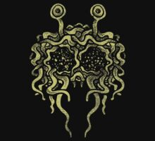 Flying Spaghetti Monster (pasta) One Piece - Long Sleeve