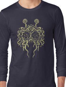 Flying Spaghetti Monster (pasta) Long Sleeve T-Shirt