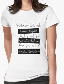 Women: Subject Womens Fitted T-Shirt