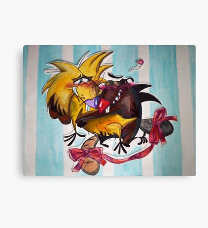 The Angry Beavers Canvas Print