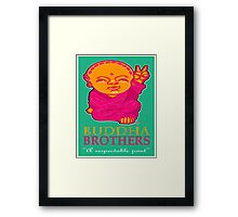 BUDDHA BROTHERS (DESIGN UNO) Framed Print