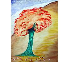 Tree - Acrylic Painting on Canvass Photographic Print