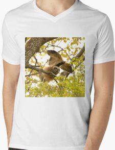 Hand Glider Mens V-Neck T-Shirt