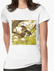 Hand Glider Womens Fitted T-Shirt