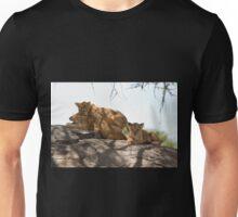Masai Lion Cubs Playing Unisex T-Shirt