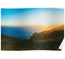 California sunsets Poster