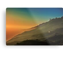 Outer world sunsets Metal Print