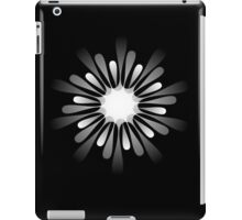 A white 10 pointed shape iPad Case/Skin