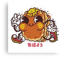 OHAYO Pancake Canvas Print