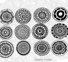 circle doodle design ( 1209 Views) by aldona