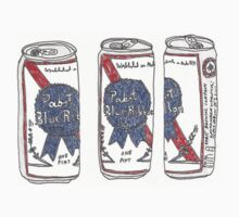 Pabst blue ribbon can by bruiseviolet77