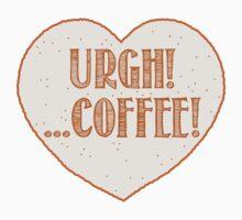 URGH coffee (I hate coffees) One Piece - Short Sleeve