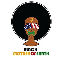Black Mother of Earth Photographic Print